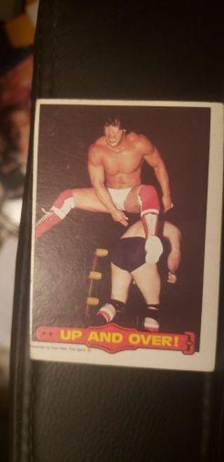 WWF Wrestling Stars II. Ricky Steamboat 1985 #18