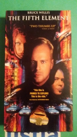 vhs the fifth element free shipping