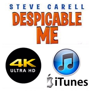 Free: DESPICABLE ME 4K ITUNES CODE ONLY - Other DVDs