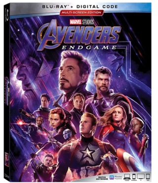 Avengers End Game digital code from Blu Ray