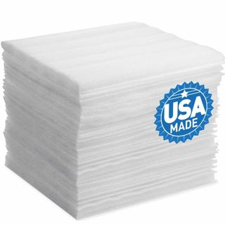 "DAT 12"" x 12"" Foam Wrap Sheets Cushioning (50 pack)"