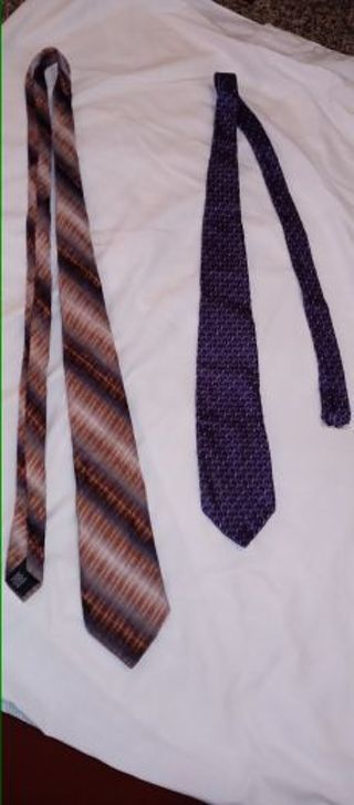 2 Geoffrey Beene ties