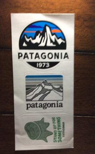 Free: Patagonia CA 3 Stickers - Stickers - Listia com