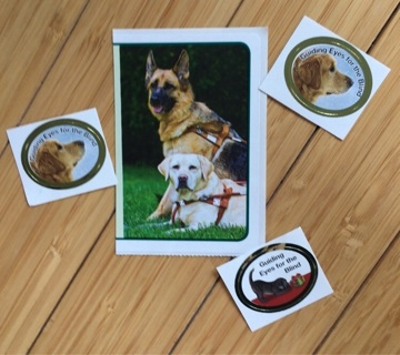 Four Dog Stickers - Variety