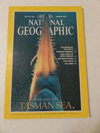 National Geographic Magazine January 1997
