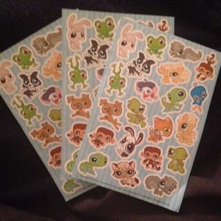 *Cute* Little Pet Shop Stickers