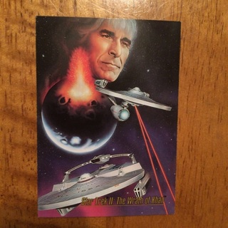 1993 SkyBox Master Series Star Trek - [Base] #85 Star Trek II: The Wrath of Khan