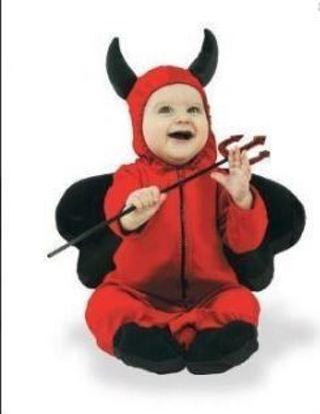 Free 1 Spirit Shop Lil Devil One Piece Red Halloween
