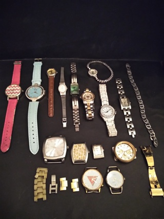 **MEGA WATCH, WATCH REPAIR, AND FOR PARTS LOT**