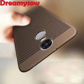 For Xiaomi Redmi 5 Pro 5A 5 Plus Note 4X 5A 4X 4 4A Case Ultra Slim Grid Heat Dissipate Case For X