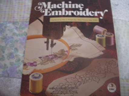 Very Vintage Beginners Guide To Machine Embroidery Booklet