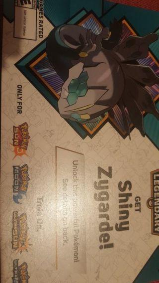 Shiny zygarde pokemon code pokemon sun / moon ultra sun / ultra moon 3ds / 2ds
