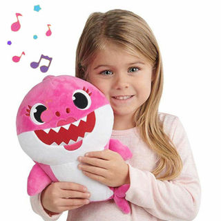 Cartoon PinkFong Animal Stuffed Toy Plush Doll Soft Toys Fox Sharks Kids Baby