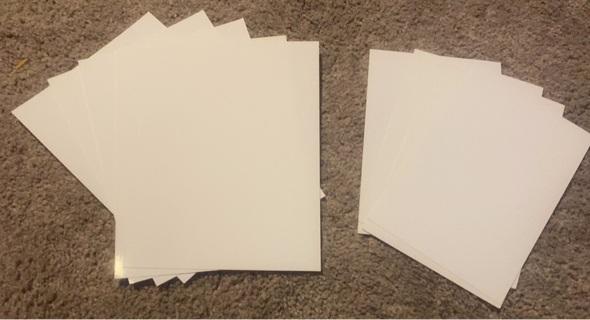 10 Sheets Glossy HP Photo Paper