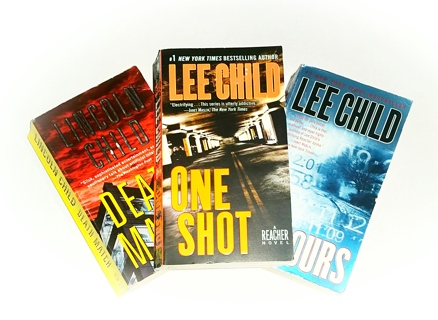 (3 Books!) 61 Hours & One Shot by Lee Child & Death Match by Lincoln Child