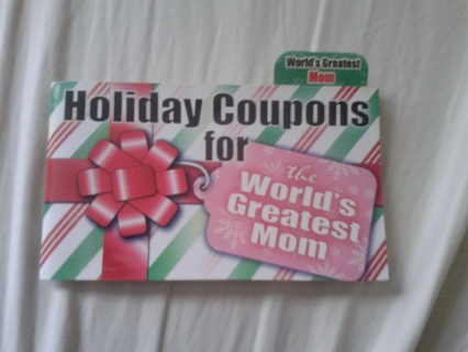 Holiday Coupon Book for Moms