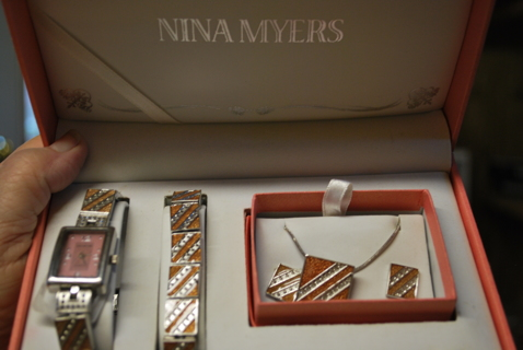 Free  Nina Myers Watch Set - Watches - Listia.com Auctions for Free ... b09a753d2803