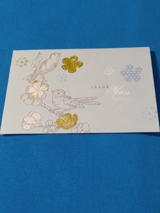 Embossed Thank You Cards