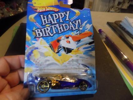 Hot Wheels Happy Birthday Open Road-ster NIP  2008