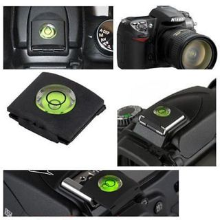 Practical 2Pcs Bubble Spirit Level Hot Shoe Cover for DSLR Camera Canon Nikon