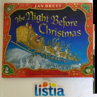 The Night Before Christmas Hardcover Book