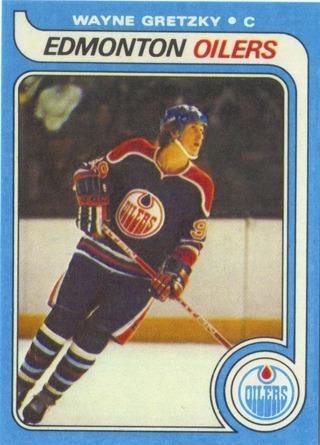 1979 Topps Wayne Gretzky Rookie card reprint