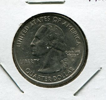 2005 P West Virginia State Quarter Error-Die Crack