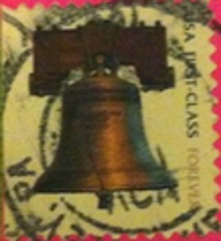 Used USA stamp