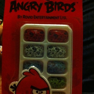 Angry Bird Press On Nails