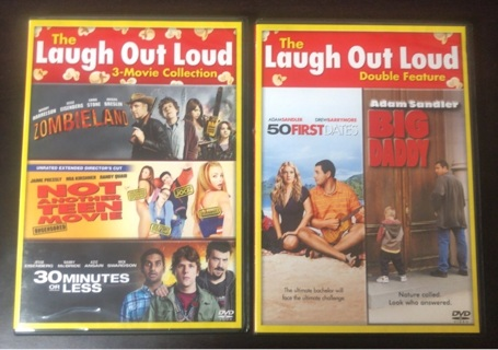 DVD: 50 First Dates, Big Daddy, Zombieland, Not Another Teen Movie, & 30 Minutes or Less