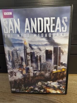 "DVD - ""San Andreas - The Next Megaquake"" - not rated"