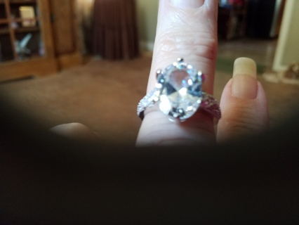 Beautiful Sterling silver ring.