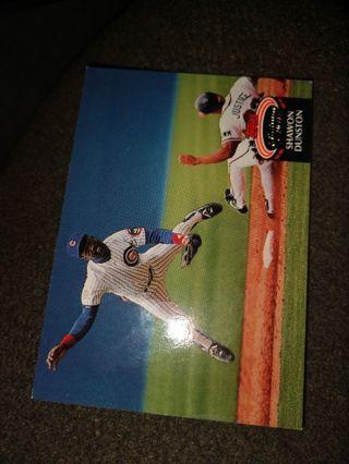Baseball Card - Shawon Dunston 1992