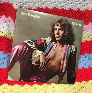 PETER FRAMPTON VINYL ALBUM I'M IN YOU FS