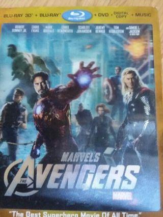 DC and Marvel movie lot (read description)