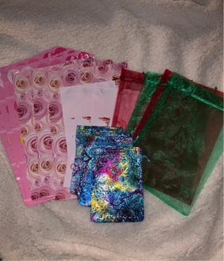 Poly mailers & Organza Bags