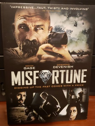"""DVD - """"Misfortune"""" - not rated"""