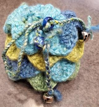 Dragon Egg Dice Bag (Petals)