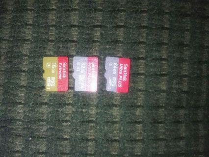 SanDisk Micro SD Card Trio