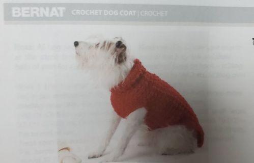 Three Knit/Crochet Dog Sweater Patterns