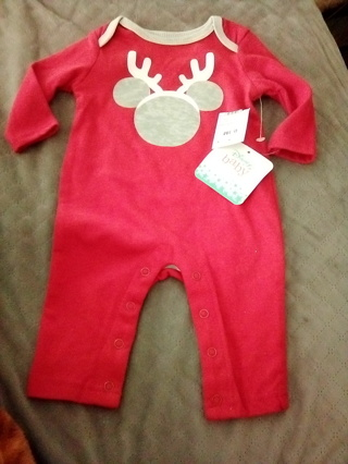 Brand New With Tags, Disney Baby Jumpsuit w/snaps (Size 0/3M) Free Shipping