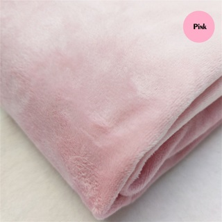[DIY] 1pc Multi-colors Soft Fleece Fabric for Sewing (50x50cm)