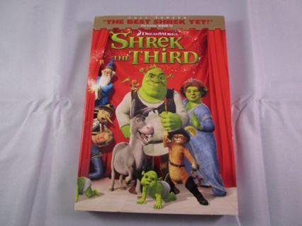Shrek the Third (DVD, 2007