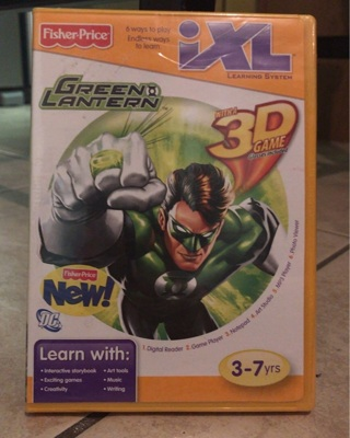 Free: Fisher Price - iXL Learning System - Green Lantern 3D
