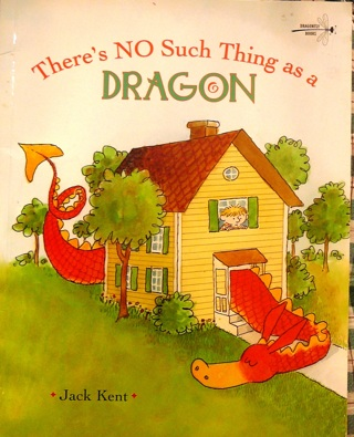 "Jack Kent's ""There's no such thing as a Dragon"" Children's book"