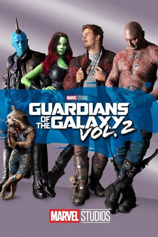 Guardians of the Galaxy Vol. 2 HD Google Play Digital Code