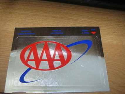 AAA STICKER -- FREE SHIPPING IN US