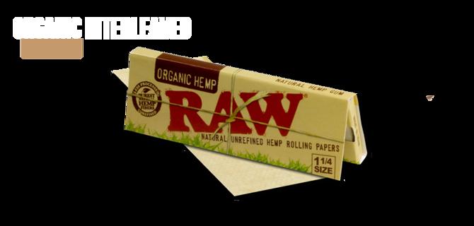 Organic Hemp Tobacco Rolling Papers = 3 Packs