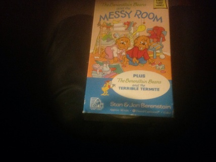 VHS-FULLY ANIMATED DOUBLE FEATUURE OF THE BERENSTAIN BEARS