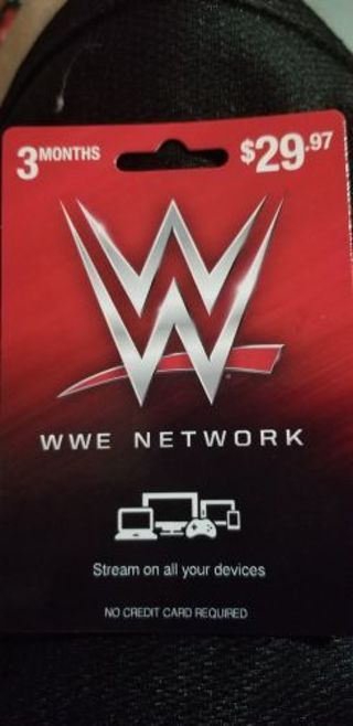 3 months of wwe network